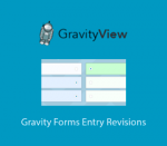 GravityView Gravity Forms Entry Revisions