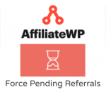 AffiliateWP Force Pending Referrals
