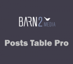 Barn2Media Posts Table Pro