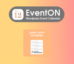 EventOn Event Lists Extended