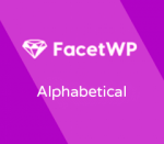 FacetWP Alphabetical