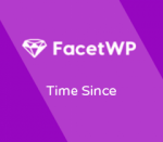 FacetWP Time Since