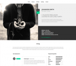 NEW Retina Ready WordPress Vcard