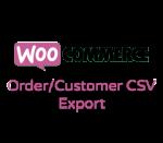 WooCommerce Order/Customer CSV Export
