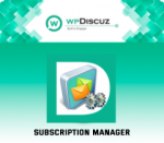 wpDiscuz Subscription Manager